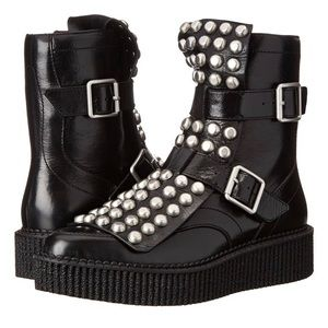 MARC JACOBS Studded Oxford Boots